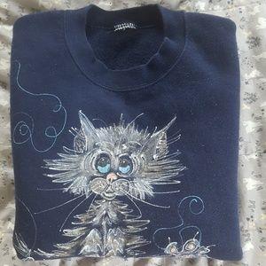 Coming Soon! Vintage Eccentric Cat Sweatshirt